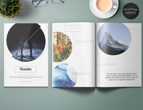Creative brochure